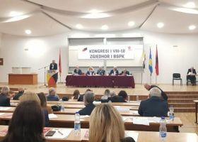 Pamje nga Kongresi i 8-te i BSPK, i mbajtur ne Prishtine me 2 tetor 2021