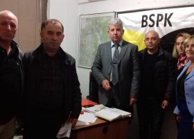 BSPK-ja në përkrahje të punëtoreve  të Pallatit të Rinisë